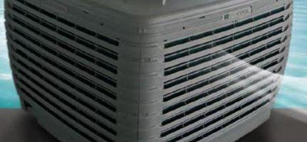 evaporatív léghűtés